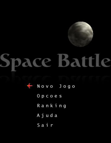 Space Battle - Menu